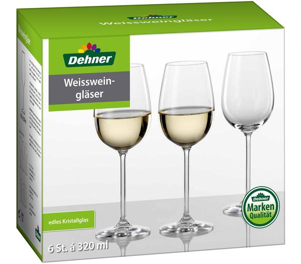 Dehner Weißweinglas, 320 ml