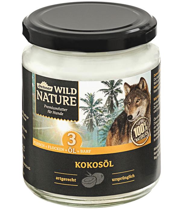 Dehner Wild Nature Ergänzungsfutter Kokosöl, BARF