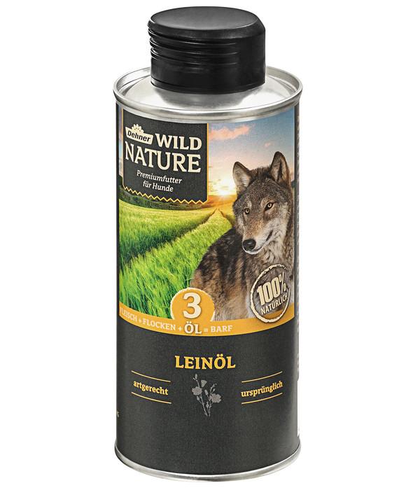 Dehner Wild Nature Ergänzungsfutter Leinöl, BARF