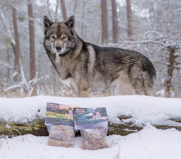Dehner Wild Nature Hirsch-Lungenwürfel, 200 g