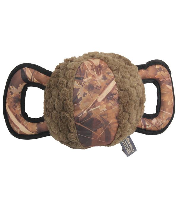 Dehner Wild Nature Hundespielzeug Outdoor Camo Handle Ball
