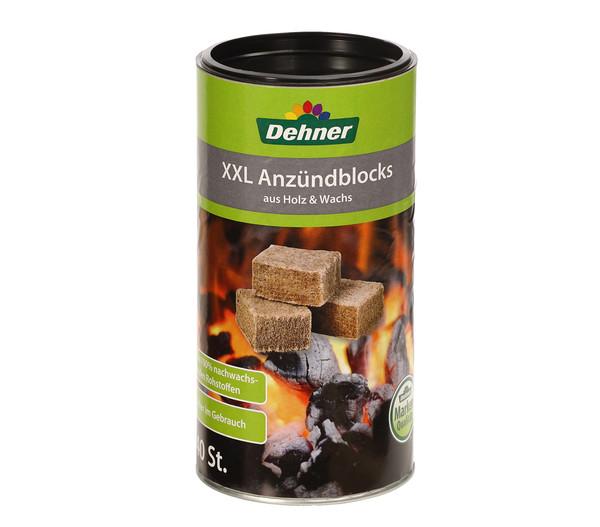 Dehner XXL Anzündblocks, 40 Stück