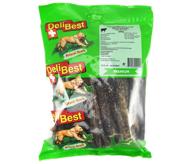 DeliBest Natural Rinderpansen, Hundesnack