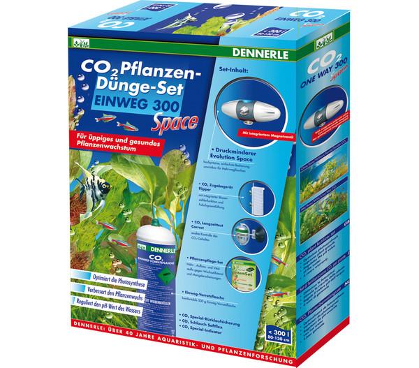 DENNERLE CO2 Pflanzendünge-Set Einweg 300 Space