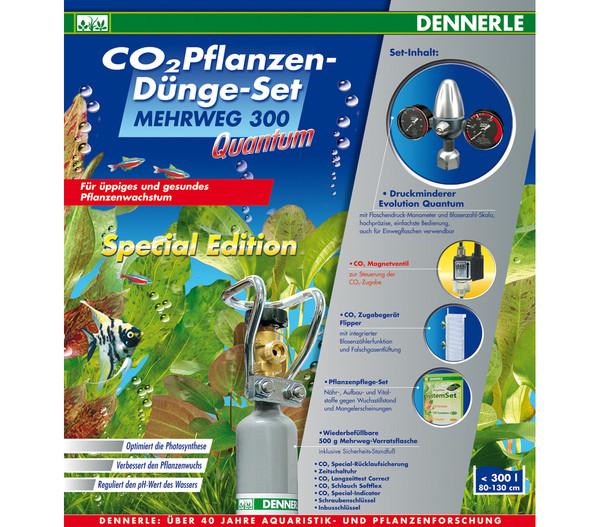 Dennerle CO2 Pflanzendünge-Set Mehrweg 300 Quantum Special Edition