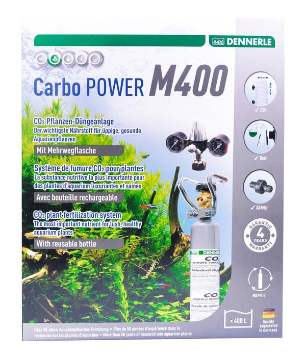 DENNERLE CO2 Pflanzendünge-Set Mehrweg CarboPOWER M400