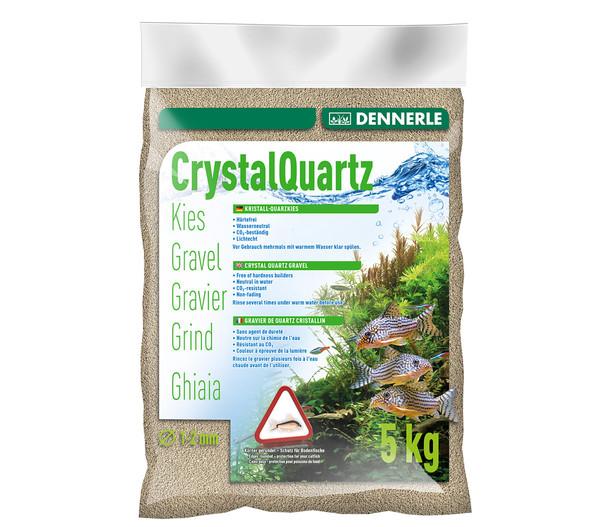 DENNERLE Kristall-Quarzkies, Naturweiß, 1 - 2mm