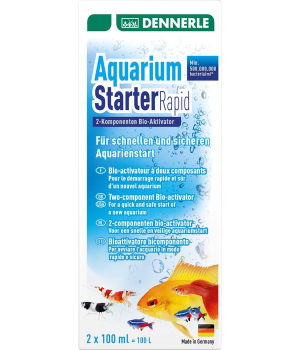 DENNERLE Wasseraufbereiter Aquarium Starter Rapid, 2x100ml