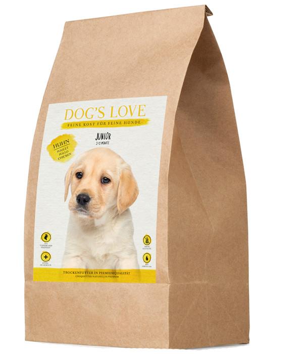 DOG'S LOVE Trockenfutter Junior