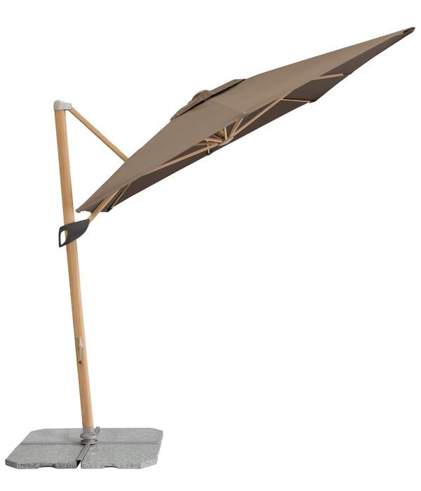 doppler Pendelschirm Alu Wood, 300 x 220 cm