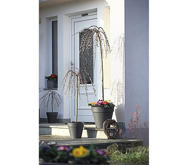 elho Kunststoff-Blumentopf Loft Urban, konisch, anthrazit