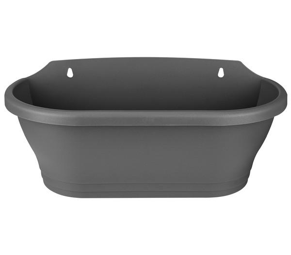 elho Kunststoff-Wandampel, oval, Ø 39 cm