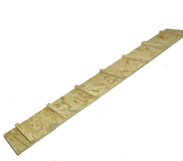 Elmato® Holzrampe mit Klettersprossen für Hasenstall
