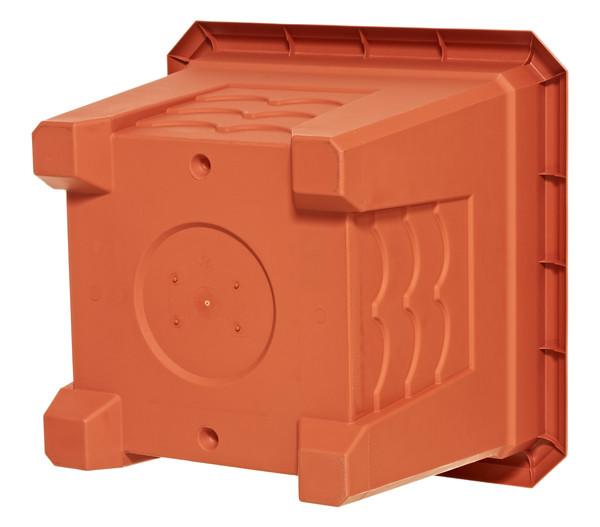 Emsa Kunststoff-Topf Terra Grande, quadratisch, terrakotta