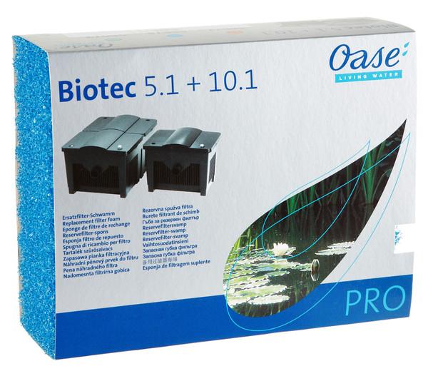 Ersatzschwamm für Oase Biotec 5.1 + 10.1 blau