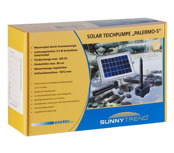 Esotec Solarpumpe Palermo für den Gartenteich