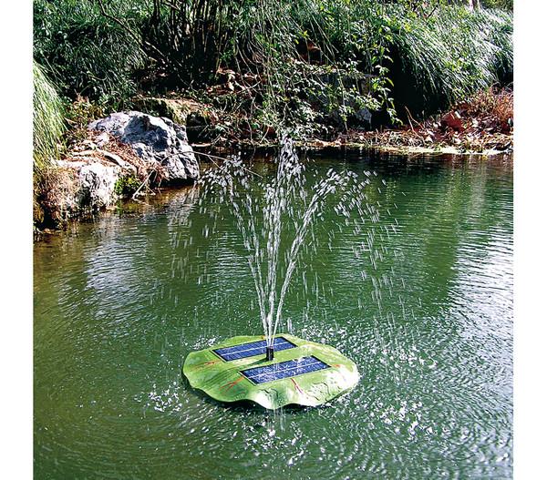 Esotec Solarpumpe Seerose für den Gartenteich