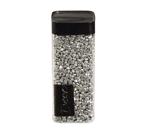 EuroSand Nuggets 6-8 mm, Silber, 550 ml