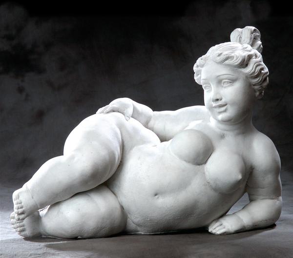 fantasieco Stein-Figur Dicke Trude, ca. B50/H37/T23 cm