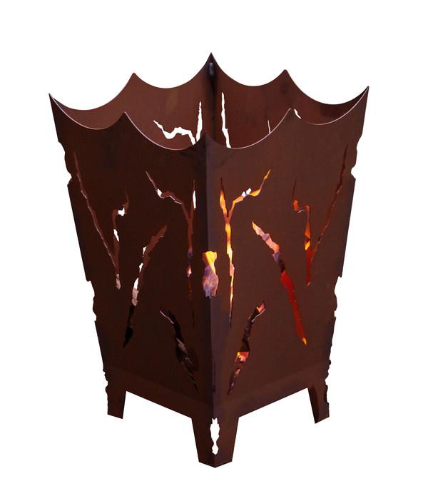 Ferrum Metall-Feuerkorb Mystik