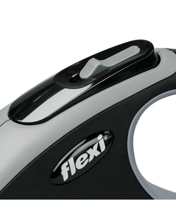 flexi® Hundeleine Gurt-Leine New Comfort, Large, 5m