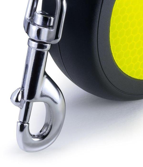 flexi® Hundeleine Gurt-Leine New Neon, Large, 5m