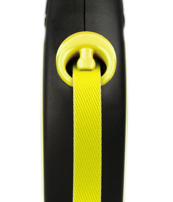 flexi® Hundeleine Gurt-Leine New Neon, Medium, 5m