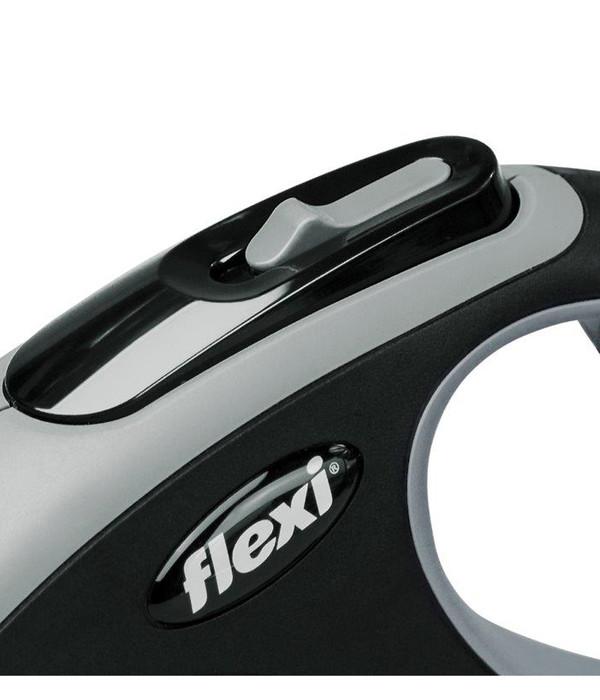 flexi® Hundeleine Seil-Leine New Comfort, Medium, 5m