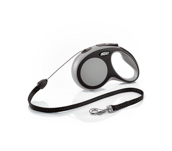 flexi® Hundeleine Seil-Leine New Comfort, Small, 8m