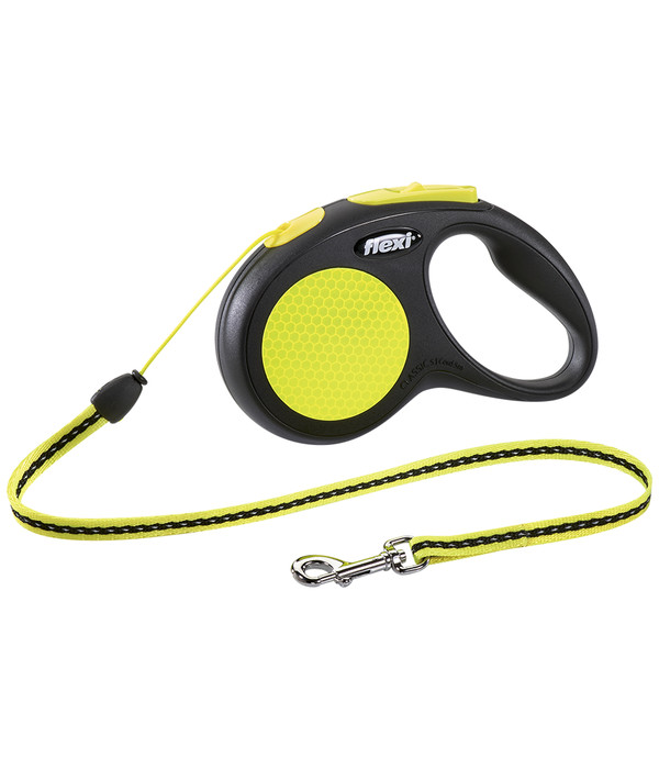 flexi® Hundeleine Seil-Leine New Neon, 5m