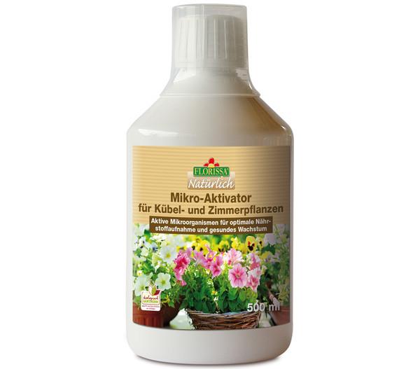 Florissa Mikro-Aktivator für Kübel- und Zimmerpflanzen, 500 ml