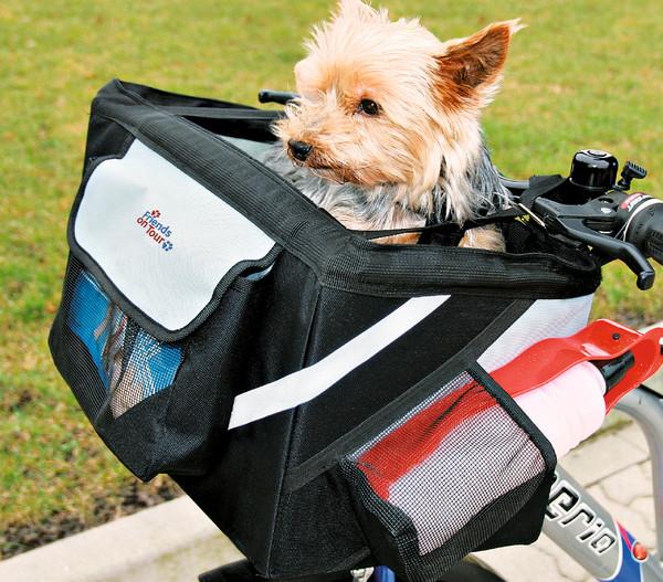 Friends on Tour Fahrrad Front-Box für Hunde, 25 x 38 x 25 cm