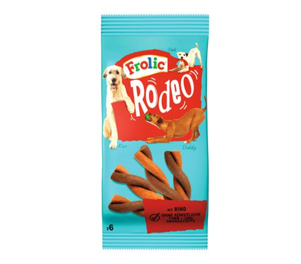 Frolic® Hundesnack Rodeo Rind, 6 Stück