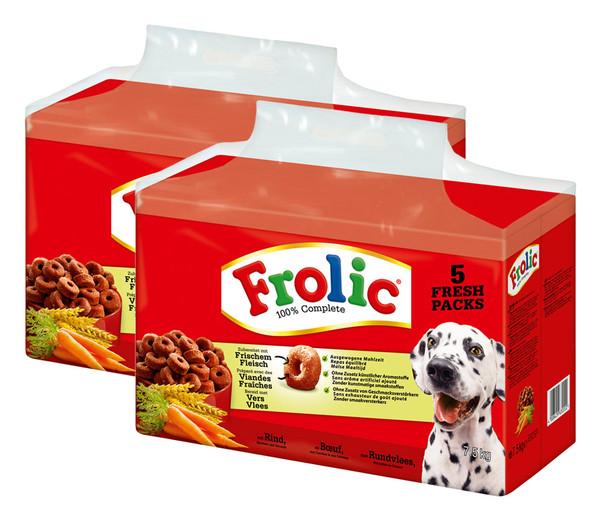 Frolic® Trockenfutter 100 % Complete & Balanced Rind
