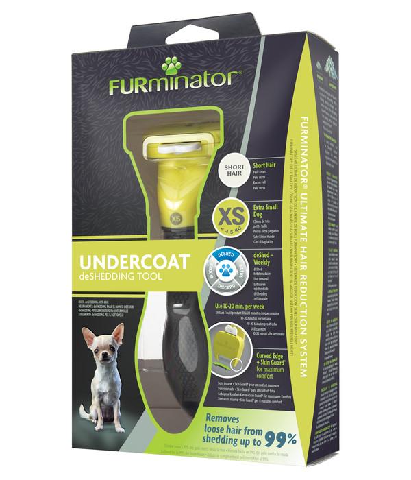 FURminator® Pflegekamm für kurzhaarige, sehr kleine Hunde