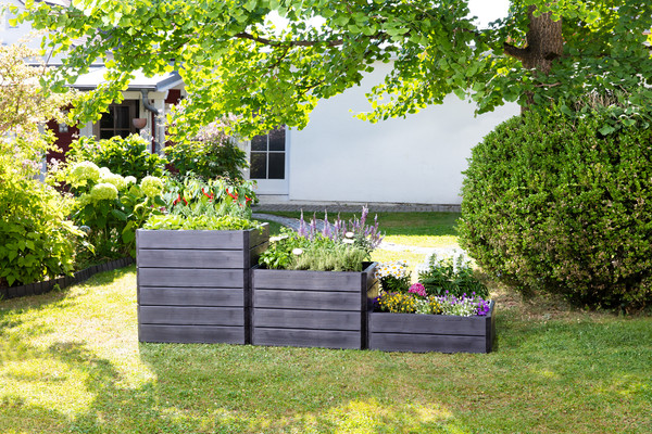 Garantia Hochbeet-System Ergo Quadro Wood