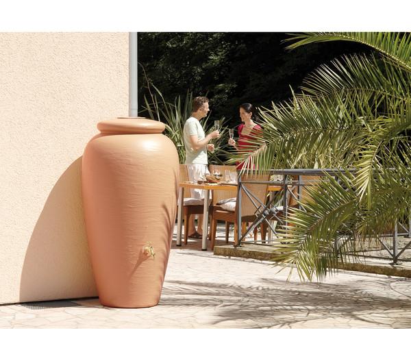 GARANTIA Regen-Amphore 500 l, terrakotta