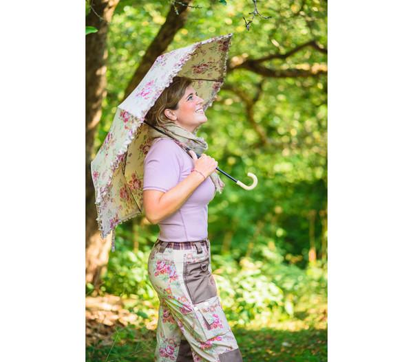 Garden Girl Regenschirm Classic