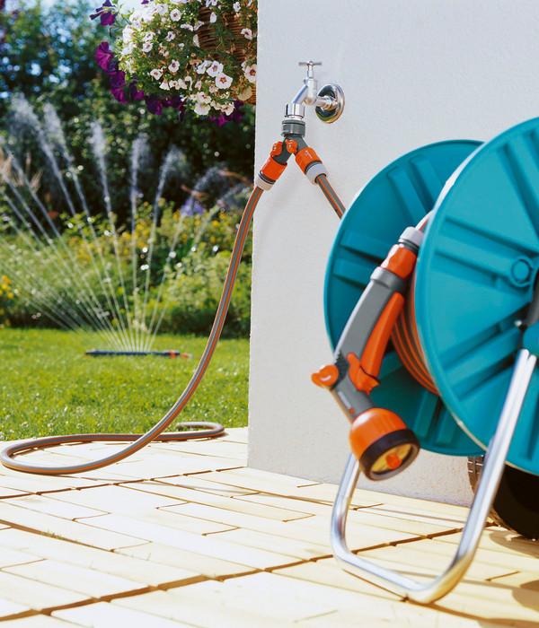 GARDENA 2-Wege-Ventil für Gartenschläuche
