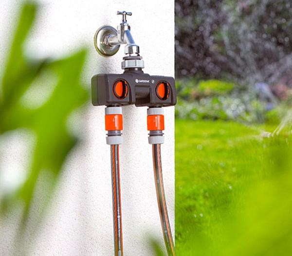 GARDENA 2-Wege-Wasserverteiler