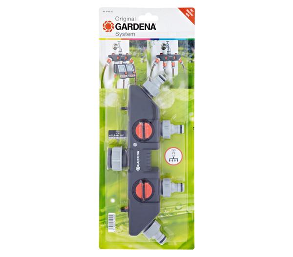 gardena 4 wege verteiler f r gartenschl uche dehner. Black Bedroom Furniture Sets. Home Design Ideas