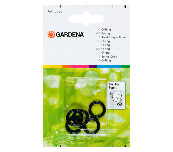 GARDENA Ersatz-O-Ring, Ø 9 mm, 5 Stk.