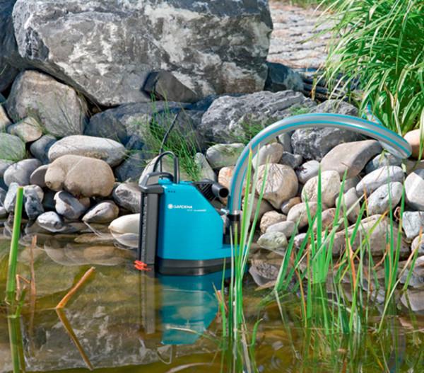 GARDENA Schmutzwasserpumpe 8500 Aquasensor