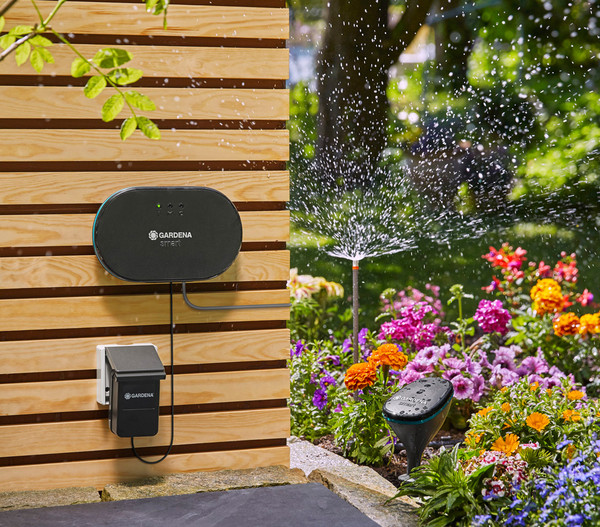 gardena smart irrigation control sensor set dehner. Black Bedroom Furniture Sets. Home Design Ideas