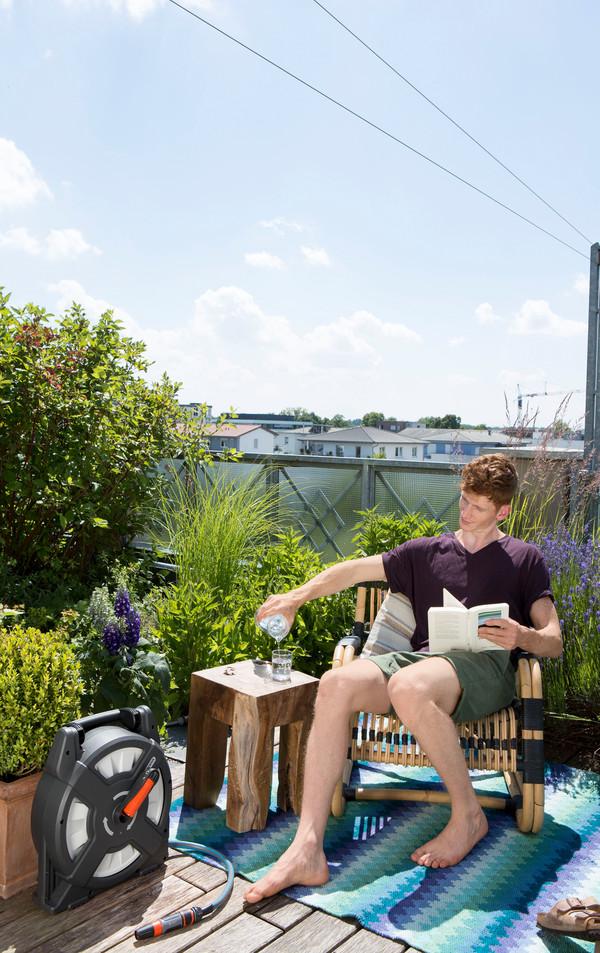 GARDENA Terrassen-Schlauchbox City Gardening