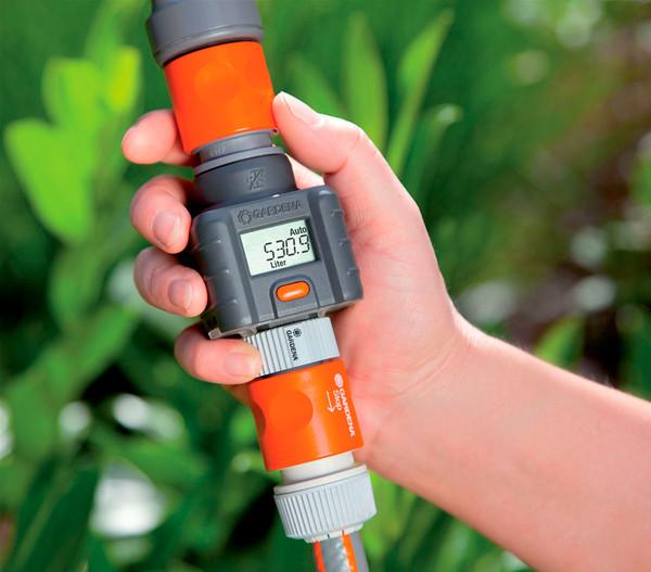 GARDENA Wassermengenzähler für den Gartenschlauch
