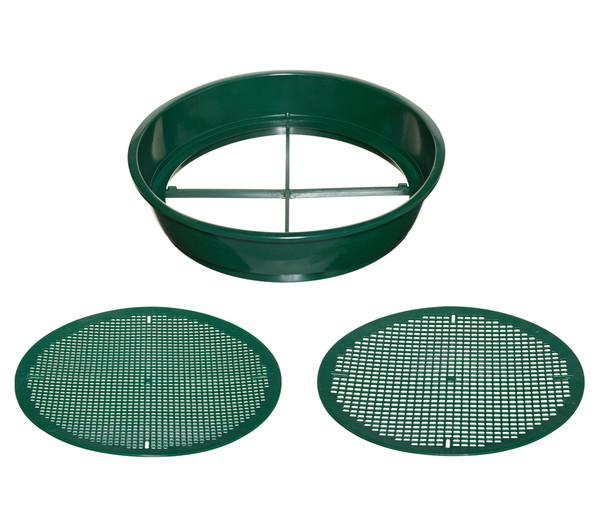 Gardiso Kunststoff Erdesieb, rund, Ø 38 cm