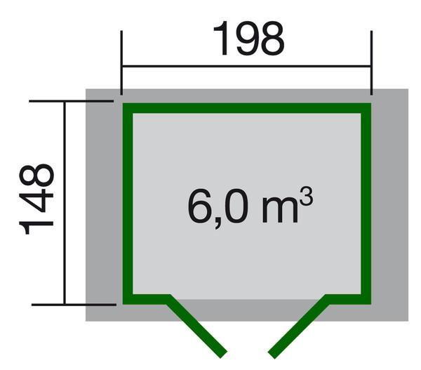 Gartenhaus 316