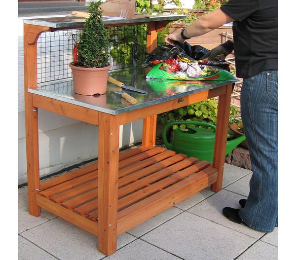 Gartentisch, 101 x 55 x 117 cm