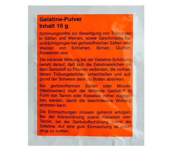 Gelatine-Pulver
